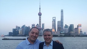 Entrevista exclusiva con el embajador de Colombia en China, Luis Diego Monsalve @IvanDuque @AlvaroUribeVel